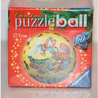Ravensburger 3D Puzzle Christmas Puzzleball, Geschenke, 60 Teile
